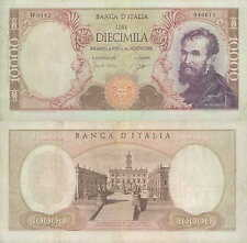 """10.000 lire 03/07/1962  """"Michelangelo"""" serie speciale W"""