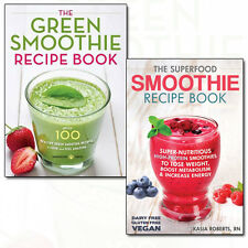 Superfood Smoothie Recipe 2 Books Collection Set Pack Green Smoothie Recipe NEW