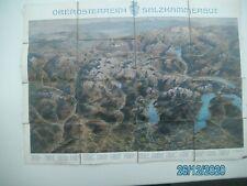 OBERÖSTERREICH - SALZKAMMERGUT - 3 Farbendruck der K.k Hofbuchdruckerei
