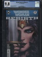 Wonder Woman: Rebirth #1 CGC 9.8 Greg Rucka 2016