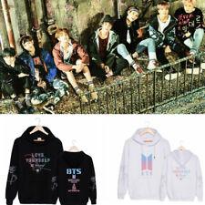 KPOP BTS Love Yourself 結 Answer Hoodie Bangtan Boys Cap Casual Sweatshirt Jumper