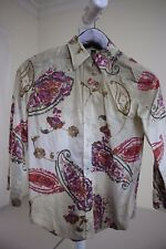 Lauren Ralph Lauren 100% Cotton Multi-Colored Floral Button Down Shirt Size - S