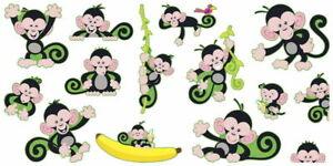 Trend Enterprises Monkey Mischief Bulletin Board Set LAMINATED for you