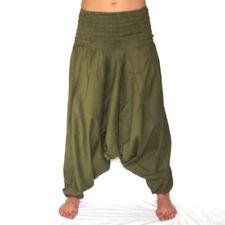Pantalones de hombre sin marca color principal verde