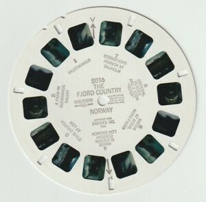 VIEWMASTER REEL: 2076 THE FJORD COUNTRY NORWAY