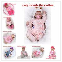 """Not Included Doll, 20''- 23"""" Reborn Baby'S Clothing Clothes For Girl Doll Gifts"""
