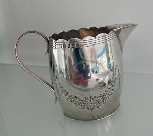 A Stunning Silver Hallmarked Cream/Milk Jug