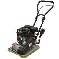 Vibratory Plate Compactor 196cc with Paving Pad - Dirty Hand Tools