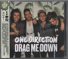 One Direction: Drag me down (2015) CD SINGLE OBI TAIWAN + FOLDED POSTER