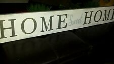 """Large Rustic Wood Sign Home Sweet Home 48"""" Primitive Distressed Fixer Upper"""