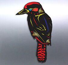 Aboriginal kookaburra Sticker art artist Vinyl cut Car aussie made & design bird