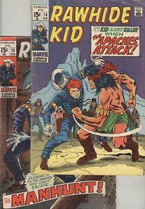 Rawhide Kid #73 and #74 G/VG