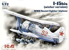 ICM 1/72 Polikarpov I-15bis Winter version # 72013