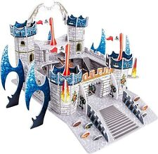 3d Puzzle Dragon Castle 17x23x25cm Children's Jigsaw Fortress