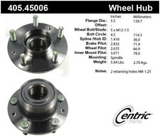 Wheel Bearing and Hub Assembly-w/o ABS Rear Centric 405.45006