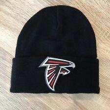 ATLANTA FALCONS Beanie Embroidered Patch BLACK Toboggan NFL Winter Cap Football
