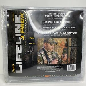 Hunter Safety System Tree Stand Life Line 3 Pack HSS-LLS-3+