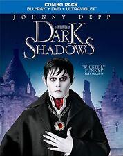NEW BLU-RAY- DVD w/ SLIP COVER // TIM BURTON // Dark Shadows //Johnny Depp,