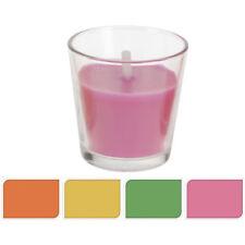 Citronella vaso de cristal con vela Pequeña Rosa / Koopman