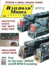 Railroad Model Craftsman Nov.1990 Coaling Tower B&O D&RGW SP GP40-2 Diesels
