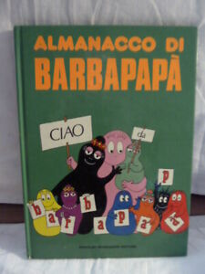 BARBAPAPA' ALMANACCO DI-  TISON -TAYLOR MONDADORI 1976 1°ed 1976 (A14)