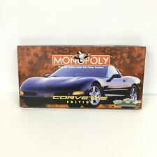Monopoly Corvette Edition Original Box #449