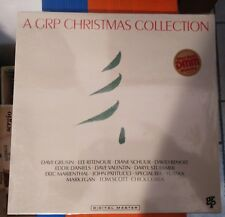 A GRP Christmas Collection   Lp  Still Sealed  1988 Suisse Issue