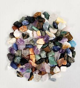 Funny Gems 6pcs Natural Quartz Aura Angel Plating Rough Healing Crystal Stone Mix 1-2 for Jewelry Pendant Make