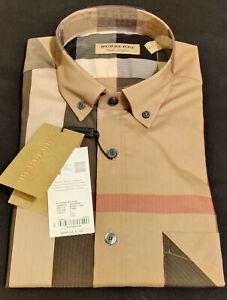 BURBERRY THORNABY Nova Check Long Sleeve Shirt New Other