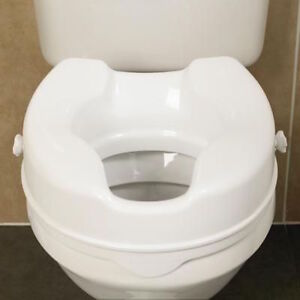 Savanah Raised Toilet Seat without Lid Strong And Durable Performance Health