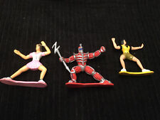 mighty morphin power rangers Vintage Pvc Figurine Lot 1993