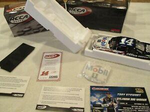 Very RARE 2011 Tony Stewart #14 Mobil 1 New Hampshire Raced Version Win Champion