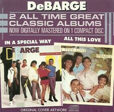 Debarge  All this love & In a special way /  2 ALL TIME GREAT CLASSIC ALBUMS