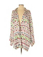 2011 VERSACE for H&M Cruise Collection Silk Print Kimono Jacket Robe Gown - XS