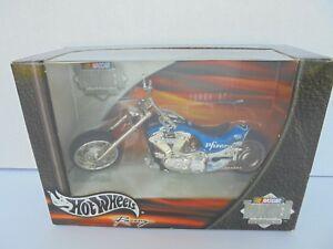 Mark Martin #6 Pfizer Nascar 02 THUNDER RIDE HARLEY TWIN FLAME MOTORCYCLE Diecas