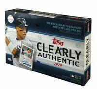 2020 Topps Clearly Authentic NEW FACTORY SEALED HOBBY BOX