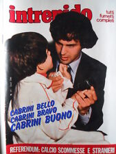 Intrepido Sport n°27 1981 Antonio Cabrini - Pietro Mennea   [G.285]