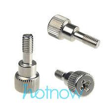 50 pcs M3 x 8mm Toolless Thumb Screws Half Screw Thread