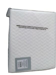 Twin XL Temperature Balancing Mattress Protector Made by Design, White