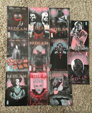 Bedlam Comic 1- 11 Complete Set Mint Near Mint Bagged Spencer Rossmo Irving