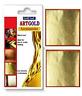 Großhandel Restposten 24ct Blattgold 100% Original Schrott Gold Blätter 50 Blatt