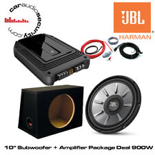 "JBL 10"" Stage 1010 + GXA Amplificateur & Subwoofer Deal Paquet 900 W amp/sous-Traiter"