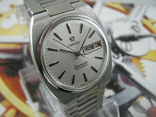 Classic OMEGA SEAMASTER AUTOMATIC CAL.1022 Day and Date Men's Watch 70's *****