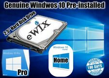 "2.5""  HARD DISK DRIVE HDD GENUINE WINDOWS 10 PRE-INSTALLED  HOME  PRO LAPTOP"