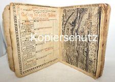 Kalender 1638 Stiche Dreißigjähriger Krieg EIN ORIGINAL RARITÄT SAMMLERSTÜCK