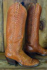 RIOS OF MERCEDES Full Giant Anacondas Size 9 C Women Vintage RARE Cowboy Boots