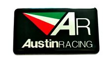 AUSTIN RACING 3D HEATPROOF EXHAUST BADGE STICKER GRAPHIC DECAL SUPERBIKE AR