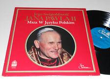 POPE JOHN PAUL II  Jana Pawla Mass in Polish Msza w jezyku Polskim NM