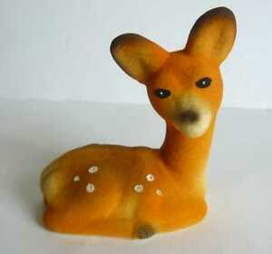 1970s USSR Soviet  Estonian Vintage Polymer Toy DEER