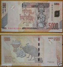 Congo Banknote 5000 Francs UNC